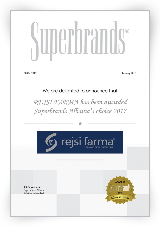 Super brands Report Albania - rejsi farma
