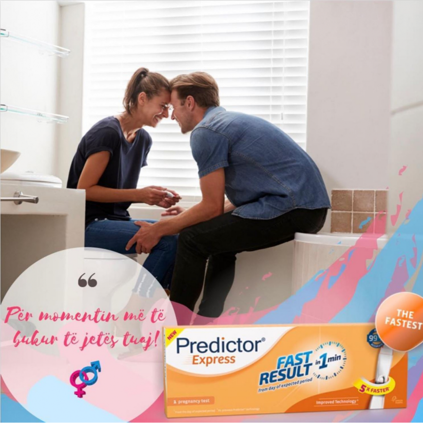 Predictor Express Pregnancy Test in Albania
