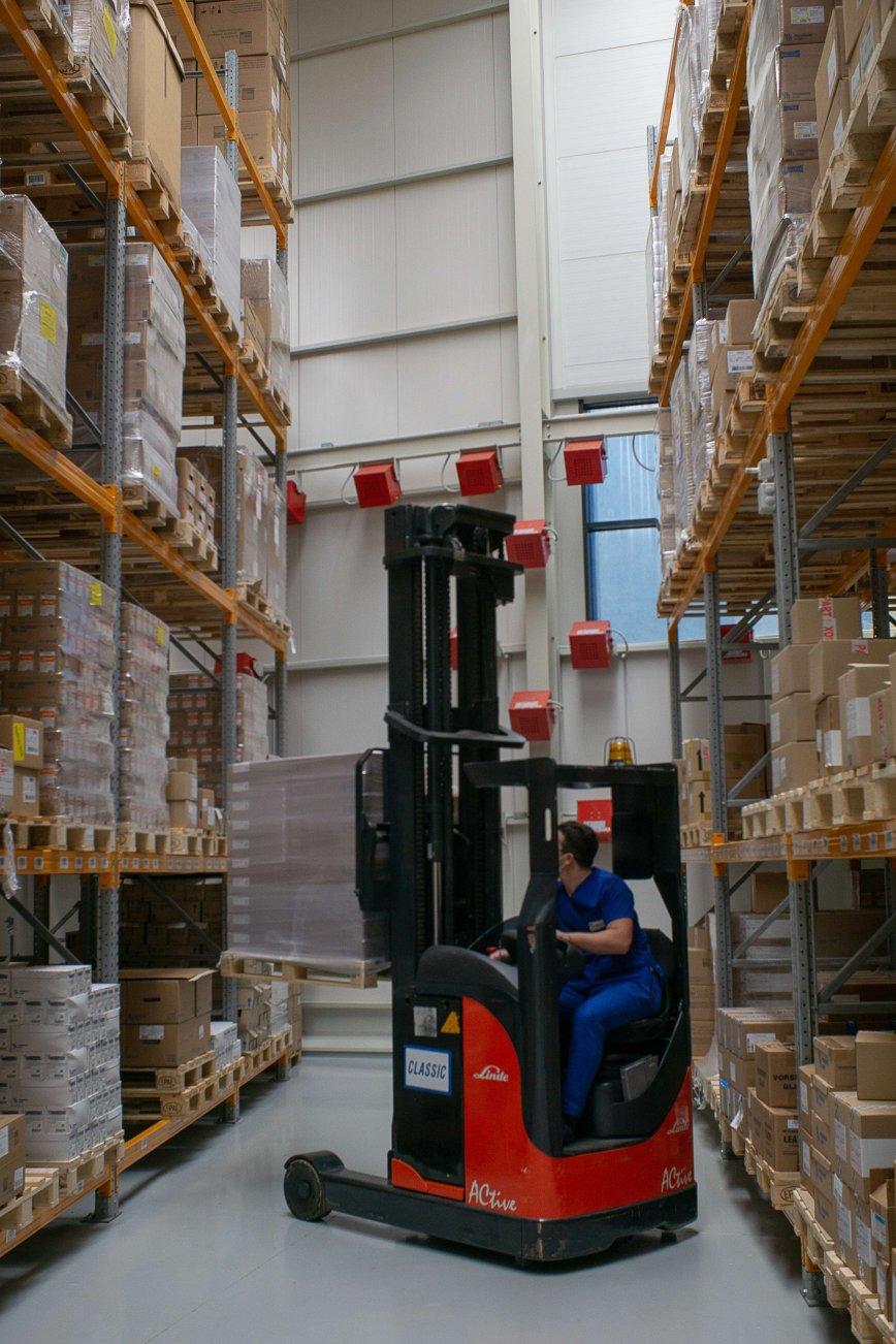 Inside the Warehouse of RejsiFarma